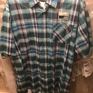 NWT sz 2xlt plaid shirt